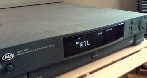 Analogue Satellite Receiver