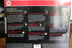 HP iPAQ 214 Enterprise PDA (7)