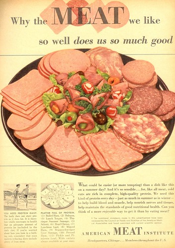 meat we like (by senses working overtime)