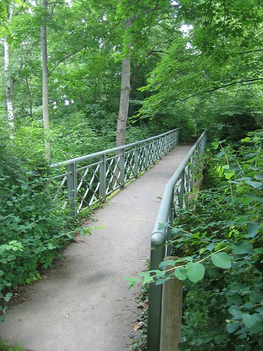 Bridge in Karlshöhe Park