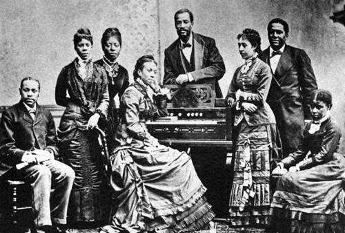 The Fisk Jubilee Singers based in Nashville, Tennessee at the ...
