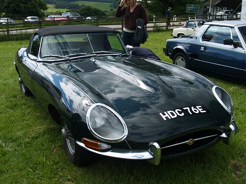 E  Type Jaguar,car, sport car