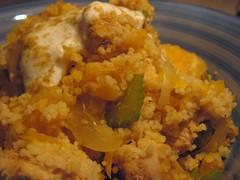 Orange Spiced Chicken w/ Couscous