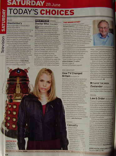 RADIO TIMES - Saturday's Choices