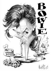 BOWIE, David (Morales de los Ríos) Tags: david rock musicians bowie pop roll composers caricaturas músicos caricatures diamonddogs compositores moralesdelosrios