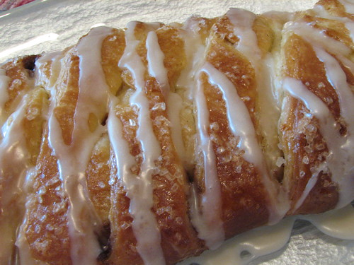 Cinnamon Danish with Coffee Glaze