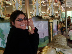 Shilpa on carousel - 3