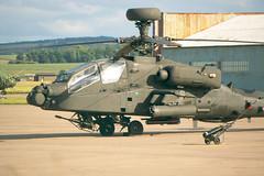Apache Portrait. (Gavin Ritchie) Tags: army apache fife aircraft aviation military transport helicopter engines guns rockets blades raf leuchars airbase rotor gunship