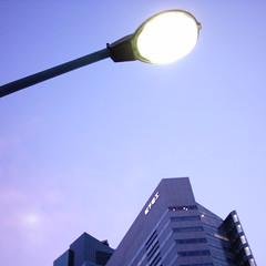 【写真】ミニデジで撮影した松下電工東京本社ビル