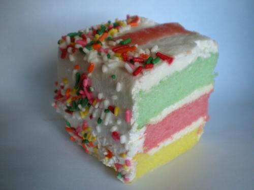 Rainbow Cake From Dee Lite Bakery Oman I Am So Hungary