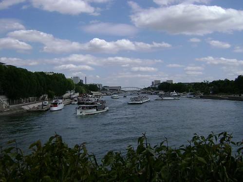 Vista da Ile de Sain-Louis