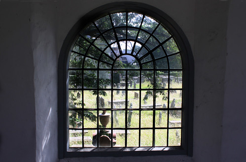 View through a window