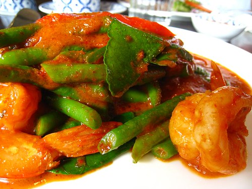 Phad Prik Khing - Thai Long Beans in Spicy Sauce