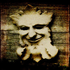 green man (annette62) Tags: face greenman