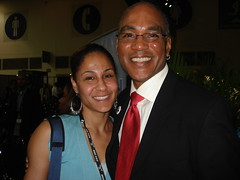 Natalia with Phil Wilson, ED of Black AIDS Institute