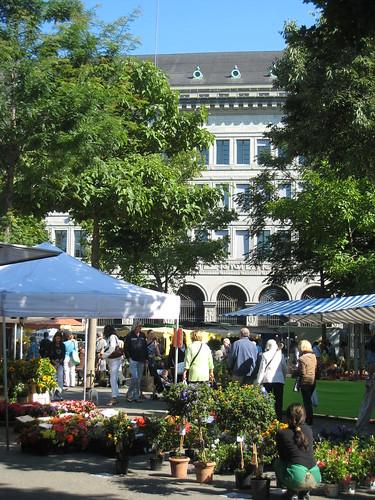 Bürkliplatz Markt, Zürich, Switzerland