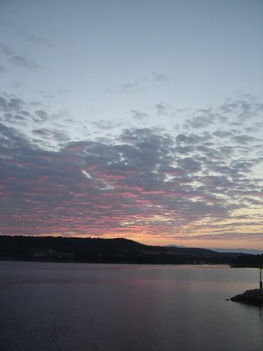 Sunrise, Hvar Croatia From Budapest to Hvar by car