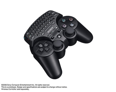 PS3 Keypad