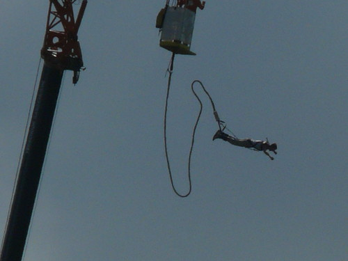 Mysteryland 2008 - Bungy Jumping 8