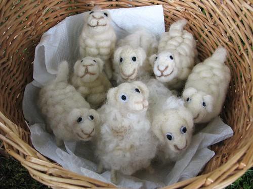 Ämma tehtud lambad