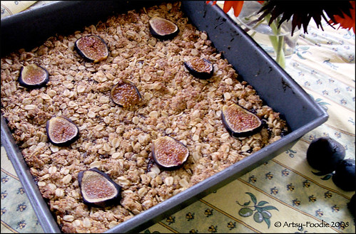 Oat Fig Bar Pan