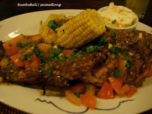 BumbuBali Chicken n' Beef Combo RM29.50