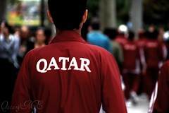 "Qatar Team In Champs elysees (Qatar&Me ""    ll3naadll) Tags: paris france champselysees team nikon qatar footballteam qtr qatarme"