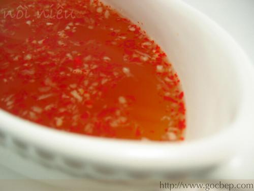 "Vietnamese sauce ""nuoc cham"""