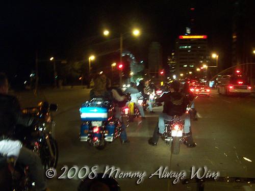 Harley's 100th - bike ride