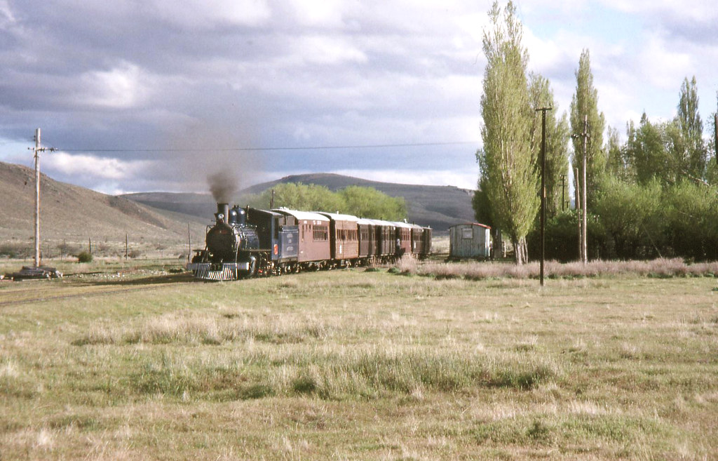 Special train from Esquel
