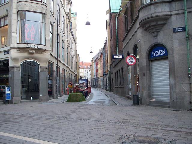 Copenhagen - Stroget Before the Crowds