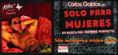 Carlos Galdos Solo Para Mujeres