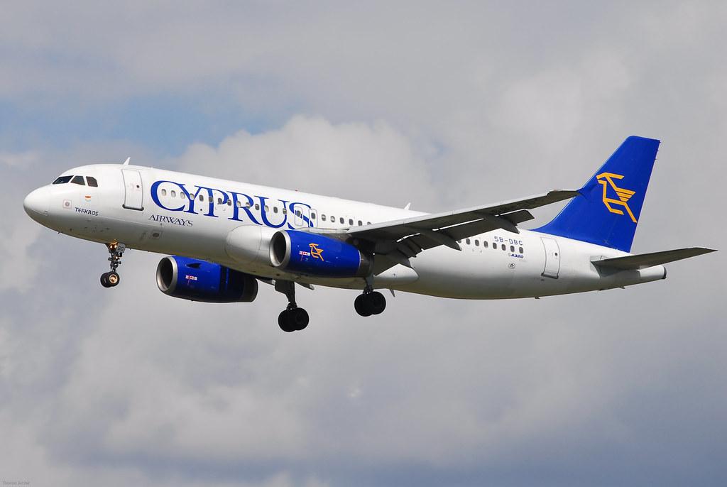 Cyprus Airways Airbus A320-231 5B-DBC Tefkros (22649)