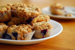 Blueberry Streusel Muffins.