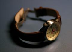 leather strap (mr.scoff) Tags: wristwatch vostok komandirskie