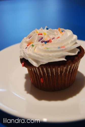 Yummy Store bought Cupcake