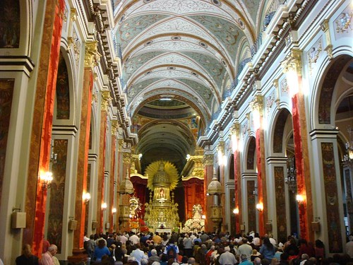 Salta's impressive main cathedral