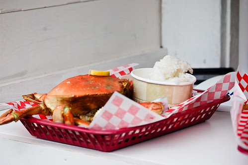 Whole Crab Lunch