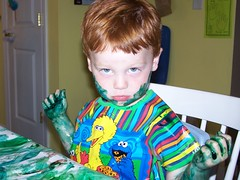 "Parker as ""The Hulk"""