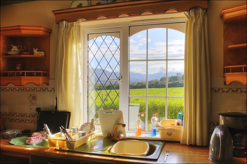 Ireland kitchen view by kaysare.