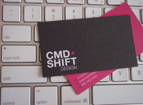 CMD+Shift Design Business Cards