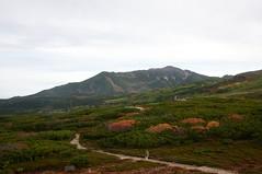 第一展望台から当麻岳を望む