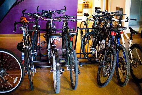 SCEA SM Bike Racks