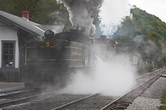 Steamin around! (Scriptunas Images) Tags: wv shay cass steamlocomotive cassscenicrailroad