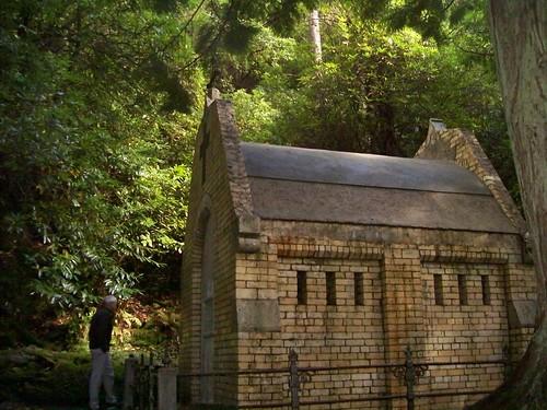 Ireland - Kylmore Abbey - Mausoleum