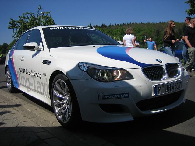bmw m5 2007 nordschleife nürburgring ringtaxi touristenfahrten tourifahrten