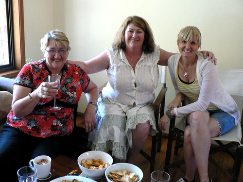 Rosemary, Sue and Rae