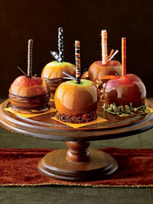 caramel apples from country living