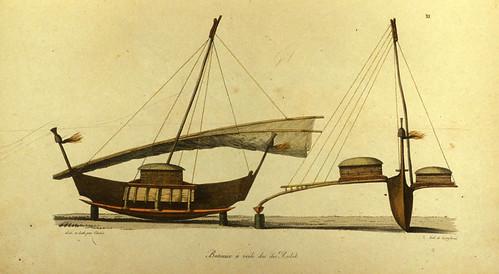 008- Barcos a vela de las islas Radak