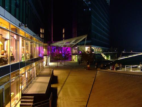 Visione generale della piazza